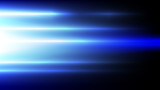 Abstract blue light and shade creative technology background. Vector illustration. - 229890683