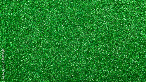 Green glitter texture for a background. - 229893043