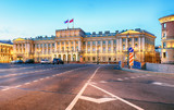 St. Petersburg Russia - Mariinsky Palace in old town - 229903293