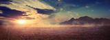 Mountains at surise Egypt - 229919033