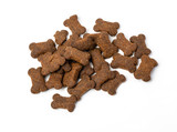 Dry  pet food isolated - 229976601