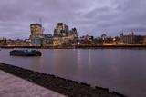 Río Támesis en Londres, Inglaterra