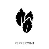 Peppermint icon. Peppermint symbol design from Nature collection. - 230008408