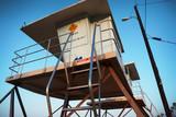Lifeguard tower on beach - 230022000