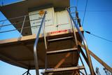 Lifeguard tower on beach - 230022067