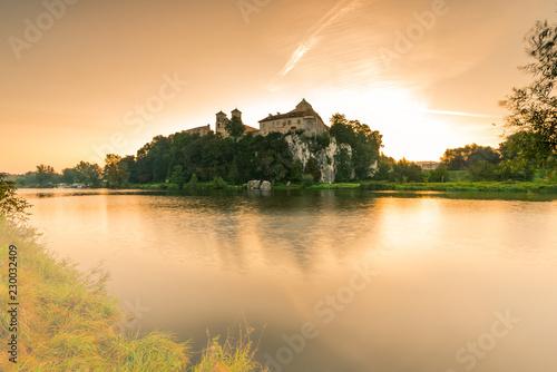 fototapeta na ścianę Benedictine abbey, monastery and Saint Peter and Paul church in Tyniec near Krakow, Poland.