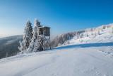 Mroźny poranek na Wielkiej Raczy / A frosty morning on Wielka Racza