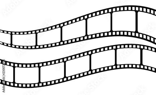 Film Strip Template   Gamesageddon Film Strip Collection Vector Template Lizenzfreie