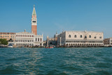 View of St Mark Square from the Grand Canal