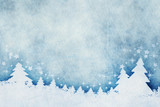 blue christmas background watercolors - 230109275