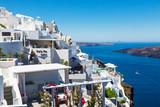 View of Fira town, Santorini, Greece