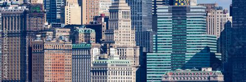 fototapeta na ścianę Wall Street Windows