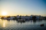 sundown in Udaipur / Island
