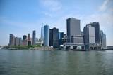 Manhattan vue du ferry en partance vers Staten Island
