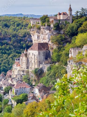 Village de Rocamadour, Lot, Occitanie, France