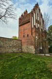 Medieval fortification of the city gate in Neuebrandemburg in Germany. - 230185607