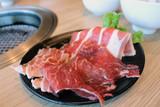 A lunch set at Gyu-kaku - a Japanese yakiniku restaurant
