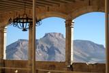 Gaerlie couverte avec vue sur la montagne - 230213492