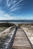 Wooden path to Baltic sea. - 230226007