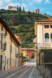Marostica (Italy, Veneto Region): old city centre. Color image - 230244609