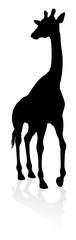 A high quality giraffe animal silhouette © Christos Georghiou