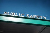 public safety sign - 230274061
