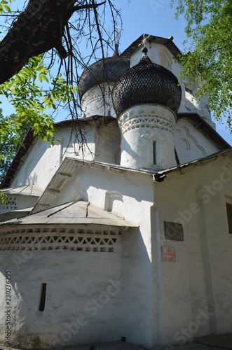 Russia. Pskov. The Church of St. Nicholas of usokha - 230276295