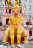 statue of the Thanboddhay Phaya near Monywa Myanmar (Burma) - 230280038