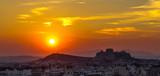 athens at sunset - 230285635
