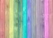 Ilustração com as cores do arco-íris