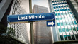 Schild 375 - Last Minute