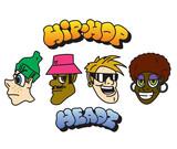 Hip-hop character set. Vector - 230314854