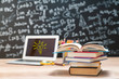 Education concept - books