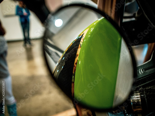 Motorcycle Closeup - 230333887