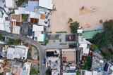 Aerial view of Shek O village, Hong Kong - 230347464