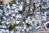 Aerial view of Shek O village, Hong Kong - 230347466