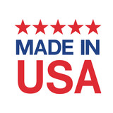 made in USA sign vector