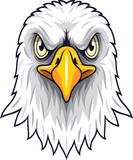 Cartoon Eagle head mascot - 230363224