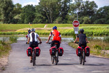Fahrrad-Fahrer in der Altmark - 230374825
