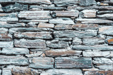 Old grey stone wall texture - 230389094