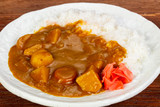 Vegan curry with vegetables - 230394875