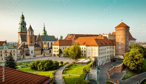 Zdjęcia na płótnie, fototapety na wymiar, obrazy na ścianę : Wawel castle in Krakow, Poland