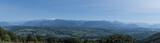 Panorama du plateau du Salève
