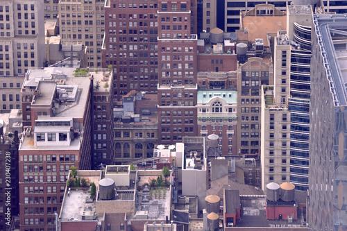 Foto Murales Midtown Rooftops