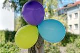 Luftballons als Dekoration im Freien - 230408466
