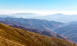 morning fog in mountains - 230421447