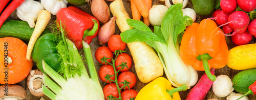 fresh vegetables from market