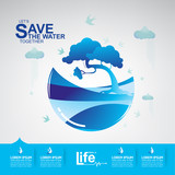 Save The Water © Space-Vector