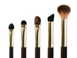 Makeup brushes isolated - 230433222