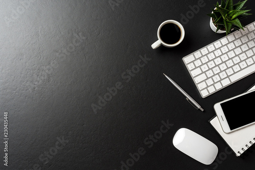 Leinwanddruck Bild Business accessories. Close up